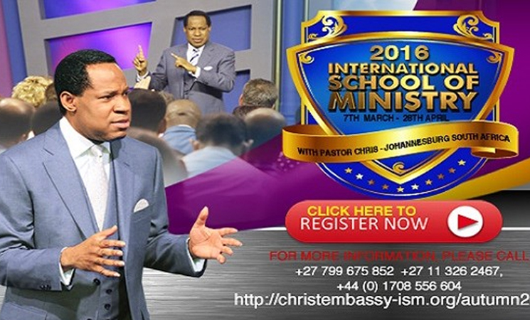 2016 International School of Ministry Autumn Session