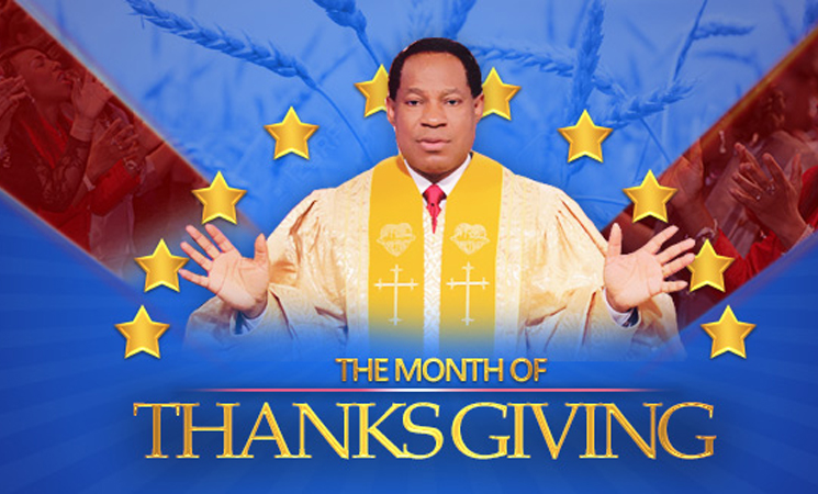 December: Month of Thanksgiving